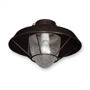 FL155 Lantern Style Fan Light - Oil Rubbed Bronze