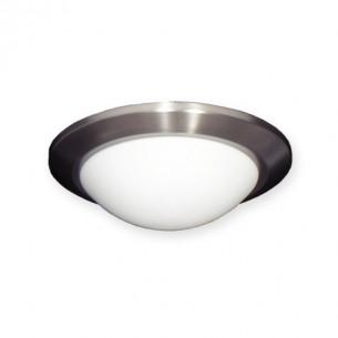 FL161 Low Profile Fan Light - Satin Steel
