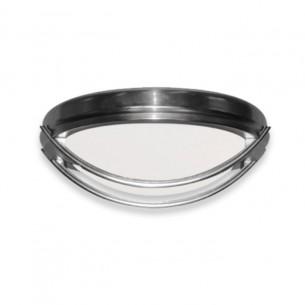 FL163 Outdoor Ceiling Fan Light (shown in Brushed Nickel)