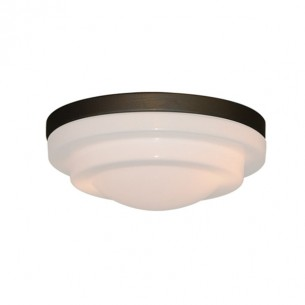 FL21 Fitter w/ 165 Stepped Glass - Oil Rubbed Bronze Shown