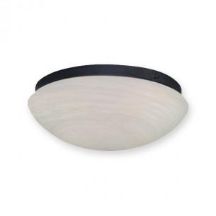 FL21 Fitter w/ 167 Scavo Glass Fan Light - Oil Rubbed Bronze Shown