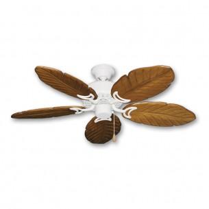 """42"""" Dixie Belle 150 - Oak Carved Wood Leaf Blades"""