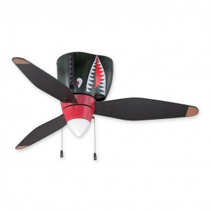 "Craftmade WB348TS3 - WarPlanes Tiger Shark 48"" Ceiling Fan"