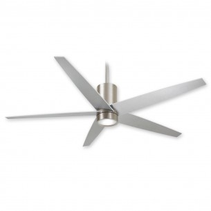 Symbio Ceiling Fan by Minka Aire - Brushed Nickel - F828-BN