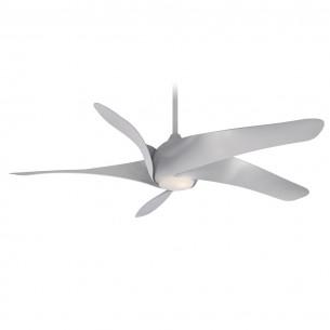 Artemis XL5 Ceiling Fan by Minka Aire Fans - Silver Finish