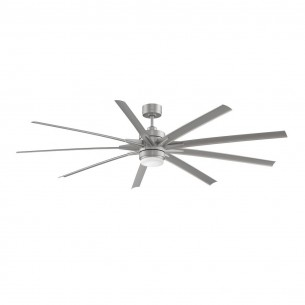 Fanimation Odyn Ceiling Fan FPD8149BNWBN - Brushed Nickel