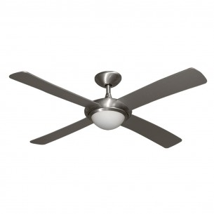 Gulf Coast Luna Ceiling Fan - Brushed Aluminum