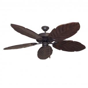 125 Series Raindance Ceiling Fan Oil Rubbed Bronze - Dark Walnut Blades