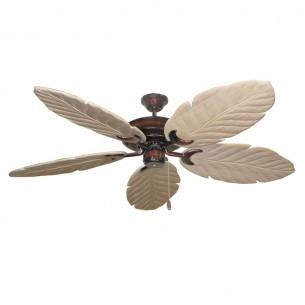 Raindance 125 Series Ceiling Fan - Wine - Whitewashed Blades