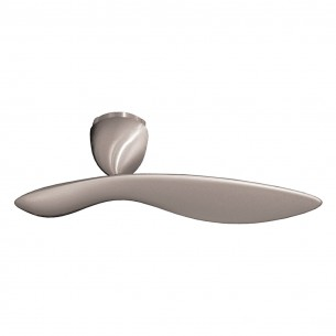 UNO Ceiling Fan - Brushed Aluminum Finish