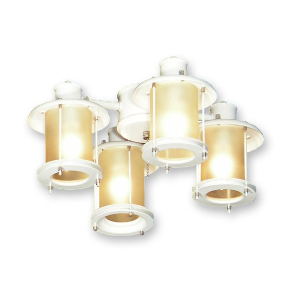 ceiling fan light kit. fl450pw outdoor ceiling fan light kit - pure white