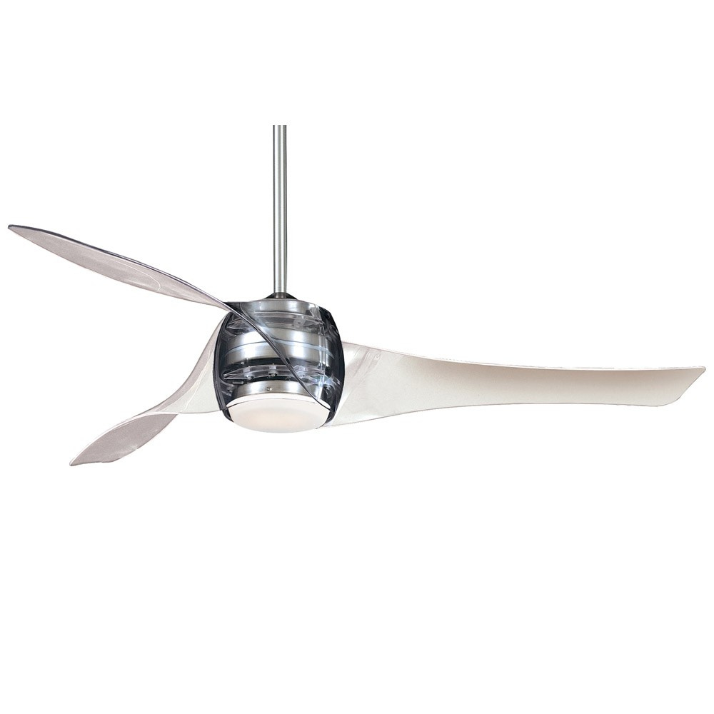 Artemis Ceiling Fan By Minka Aire 58 Inch Translucent