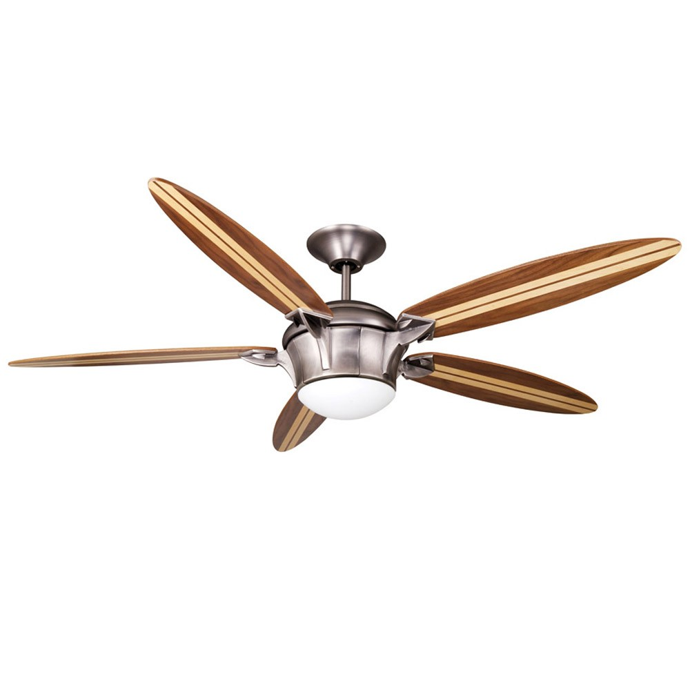Surfboard ceiling fan by ellington fans e sbf58an5lkrcr2 tropical beach theme - Beach themed ceiling fan ...