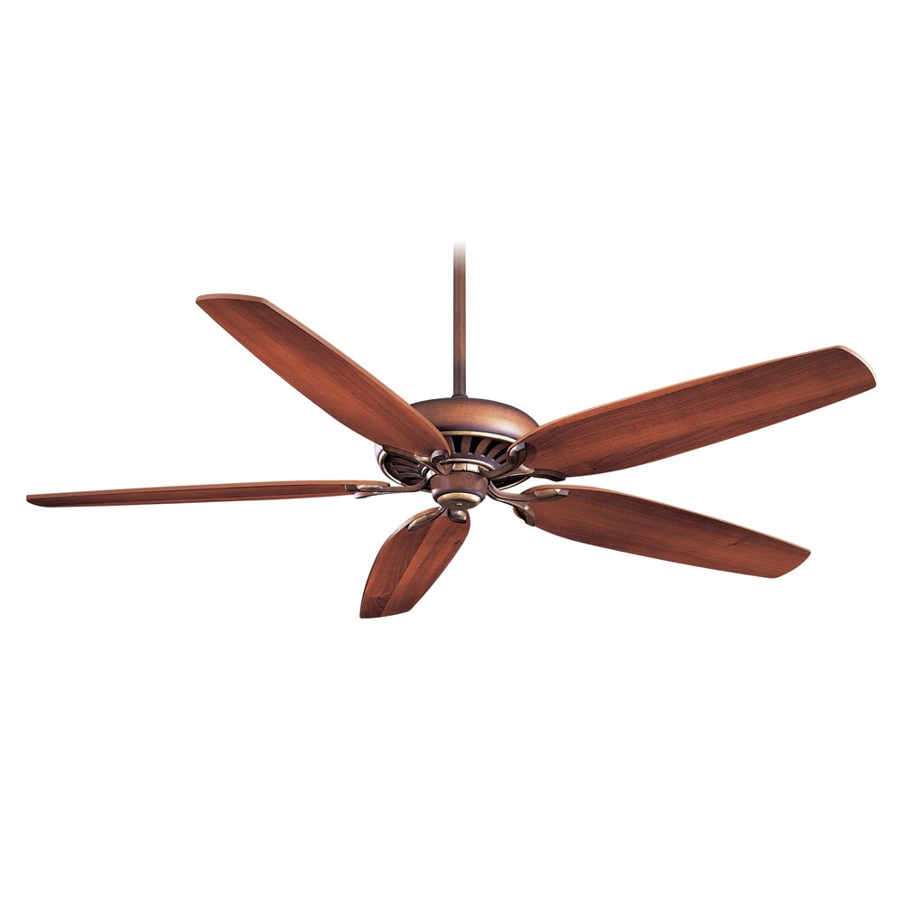 Minka Aire Great Room Traditional Ceiling Fan - Belcaro Walnut w/ Dark ...