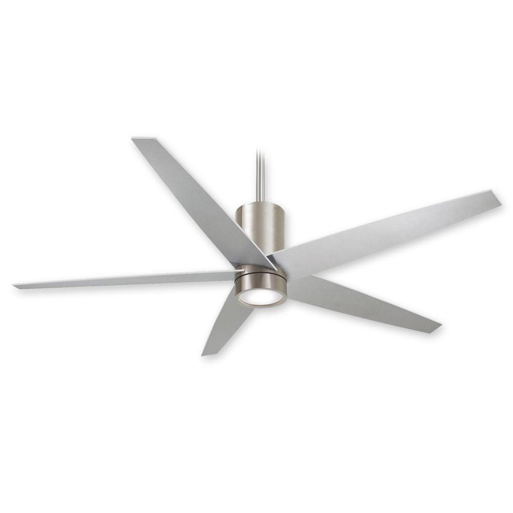 56 Minka Aire Symbio Ceiling Fan F828 Bn Brushed Nickel