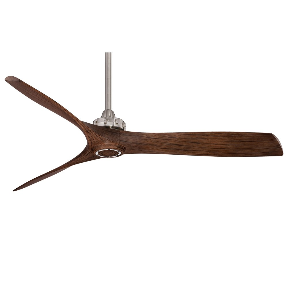 "Home > 60"" Aviation Ceiling Fan by Minka Aire - F853-BN/MM Nickel With ..."