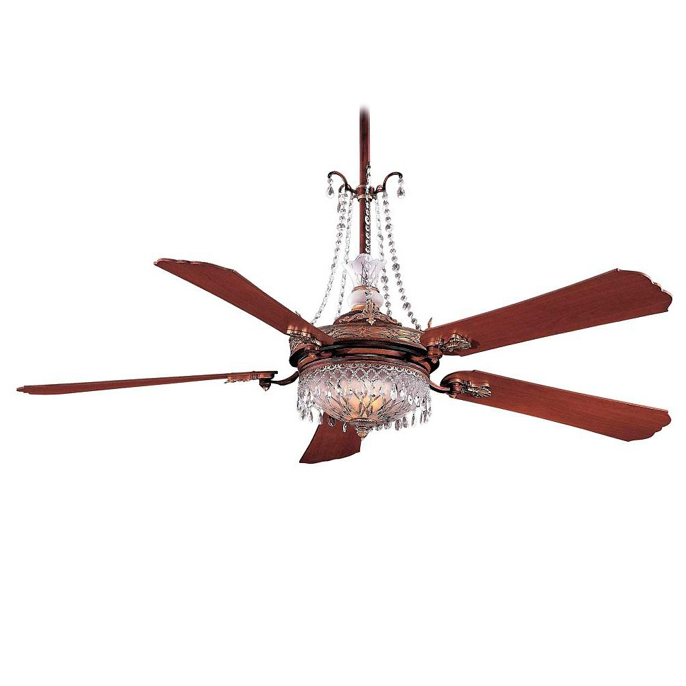 ... -BCW Cristafano 68 Inch Ceiling Fan Including GC900 Crystal Package