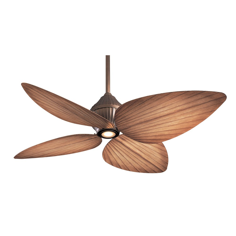 Tropical Ceiling Fans : F orb minka aire gauguin ceiling fan oil rubbed