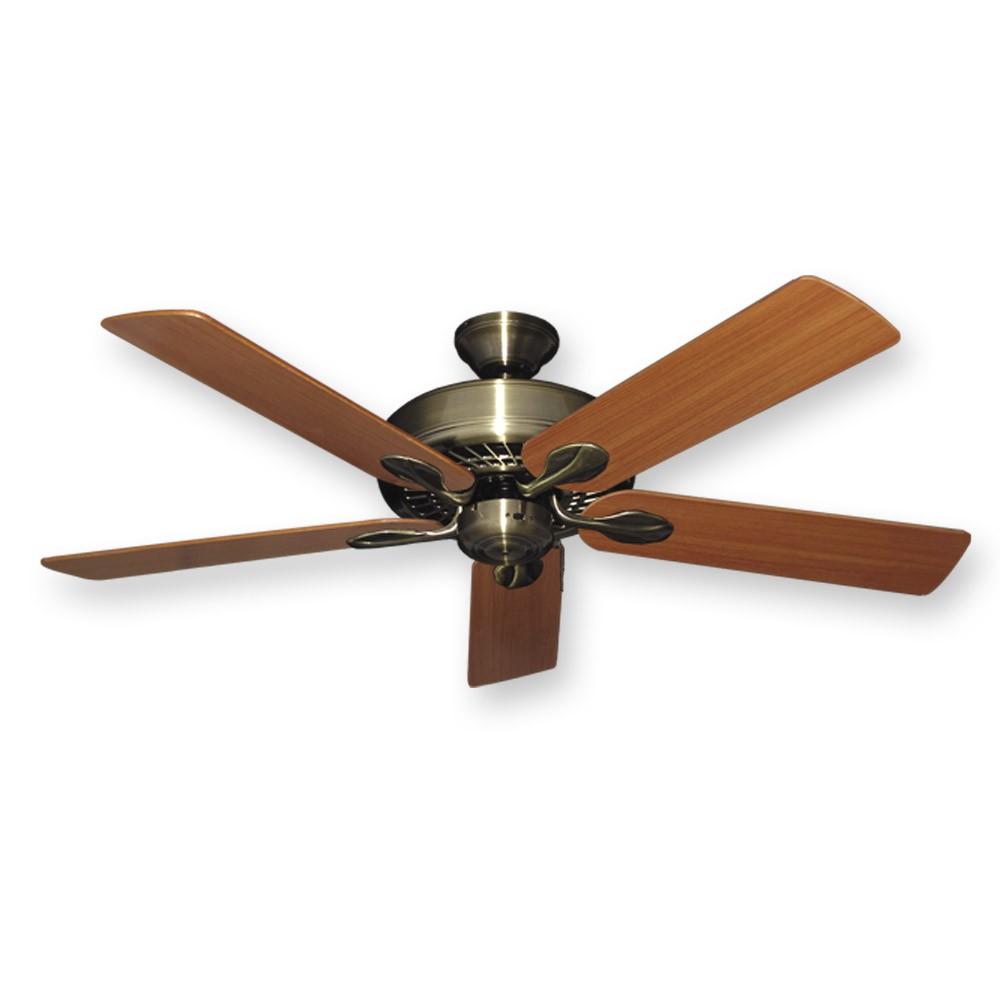 """52"""" Meridian Ceiling Fan by Gulf Coast Fans Antique"""