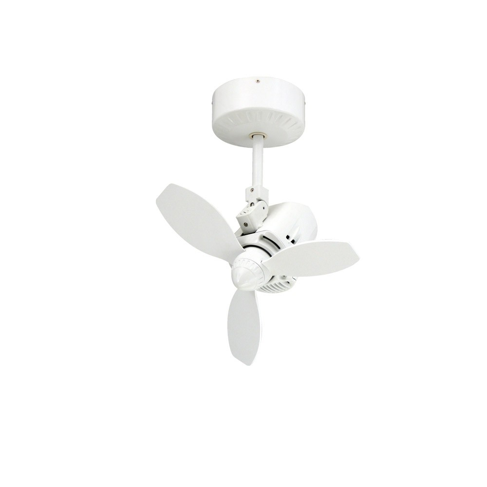 home mustang oscillating ceiling fan by troposair pure white. Black Bedroom Furniture Sets. Home Design Ideas