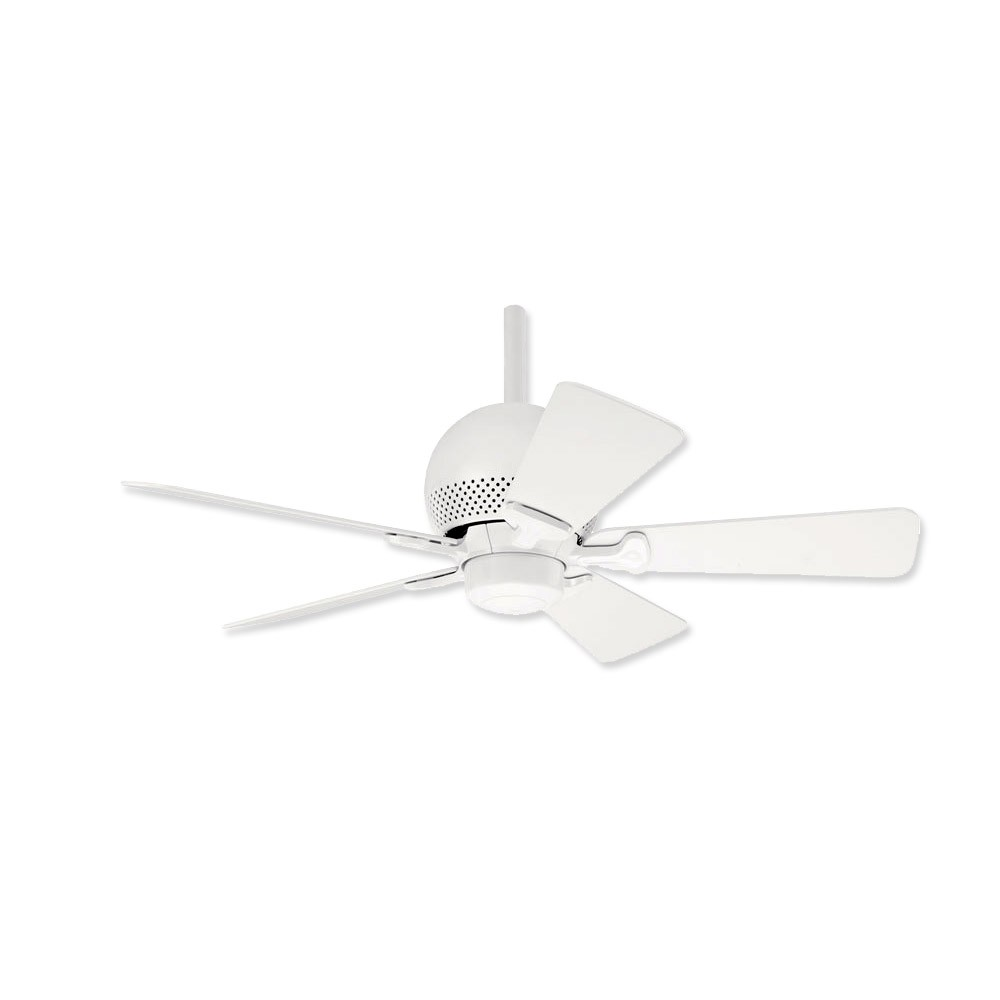 Hunter White Fan Part - 48: Hunter ORBit - 28420 White