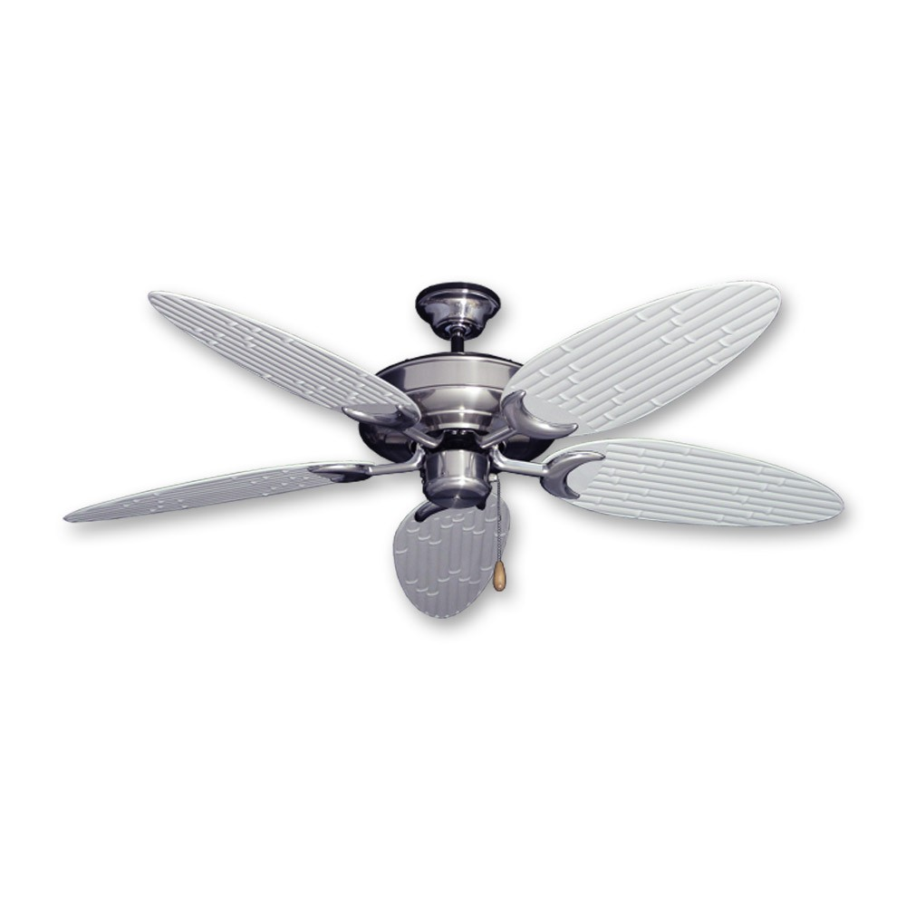 Bamboo Ceiling Fan Raindance Brushed Nickel Customize