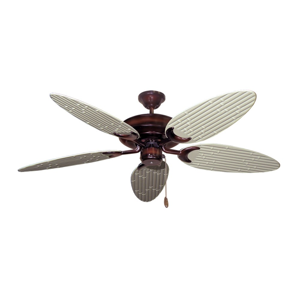 Bamboo Ceiling Fan Wine Finish Customize With 12 Blade