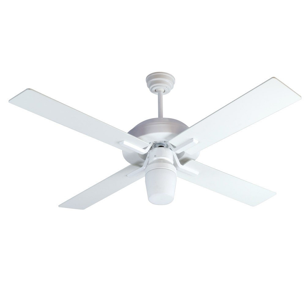 south beach ceiling fan by craftmade fans sb52w4 52 inch. Black Bedroom Furniture Sets. Home Design Ideas