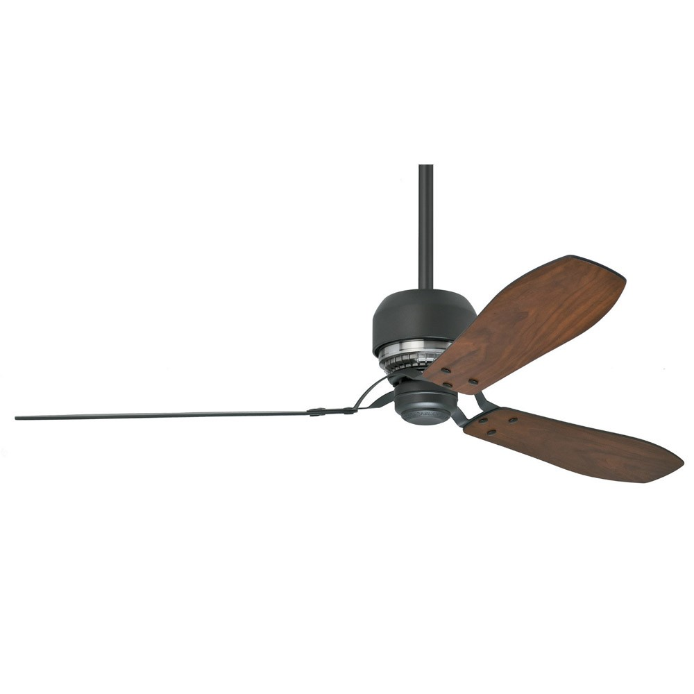 ... Tribeca 60 Inch Ceiling Fan 59505 - Graphite Finish Modern 3 Blade Fan