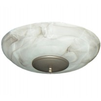 FL171 Mocha Swirl Ceiling Fan Light Kit - 8 Finial Finish Options