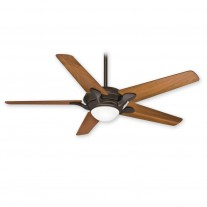 "Bel Air Ceiling Fan by Casablanca 59078 - Brushed Cocoa 56"" Fan With Light Included"