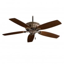 Classica 54 Inch Ceiling Fan by Minka Aire Fans - F659-PI Patina Iron Finish