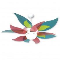 """52"""" Craftmade Bloom Ceiling Fan w/ Candy Blades BL52W BBL52-CNDY"""