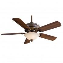 """52"""" Bolo Ceiling Fan with Light F620-BCW by Minka Aire Fans - Belcaro Walnut"""