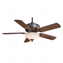 "52"" Bolo Ceiling Fan with Light F620-ORB by Minka Aire Fans - Oil Rubbed Bronze"