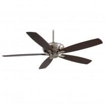 """Kola XL 60"""" Ceiling Fan F689-PW by Minka Aire Fans - Pewter Finish"""