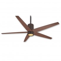 "56"" Symbio Ceiling Fan by Minka Aire F828-ORB - Oil Rubbed Bronze w/ Meduim Maple Blades - DC Motor"