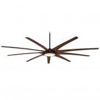 "99"" Ninety-Nine Ceiling Fan by MInka Aire - F899L-ORB - Efficient DC Motor w/ LED Lighting"