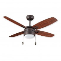 "42"" Sprite Ceiling Fan by TroposAir - Small Contemporary, Oil Rubbed Bronze Finish w/ Light"