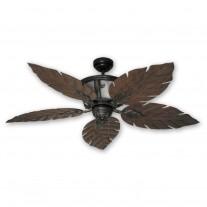 """52"""" Venetian Ceiling Fan - Oil Rubbed Bronze Tropical Ceiling Fan"""