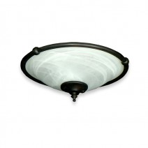 FL173 Ringed Bowl Fan Light - Oil Rubbed Bronze