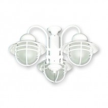 FL362PW Nautical Outdoor Fan Light - Pure White