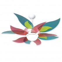 Craftmade Bloom Flower Ceiling Fan w/ Candy Blades - BL52W-BBLCNDY