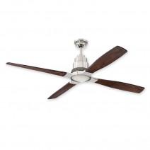 """60"""" Craftmade Ricasso Ceiling Fan RIC60BNK w/ Dark Mahogany Blades"""