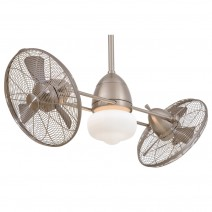 Gyro Wet F402-BNW Minka Aire Dual Ceiling Fan