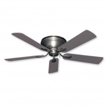 Stratus Ceiling Fan in Satin Steel w/ Statin Steel Blades