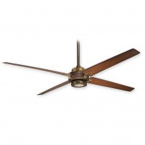 "60"" Minka Aire Spectre F726-ORB/AB - Oil Rubbed Bronze/Antique Brass - 6 Speed DC Ceiling Fan w/ Remote"