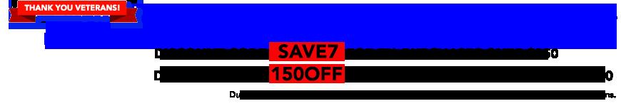 Weekend Special Savings Event