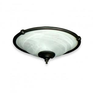 FL173 Ringed Bowl Fan Light - Oil Rubbed Bronze