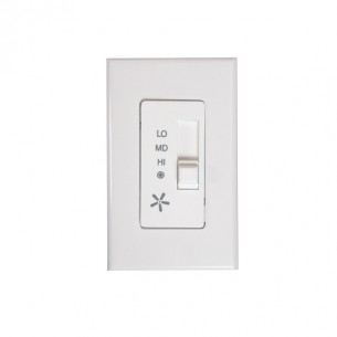 423 Fan Control Switch - Available in White or Bisque
